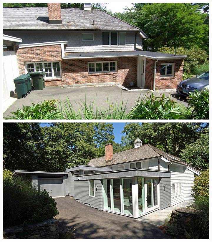 Before and After New Canaan