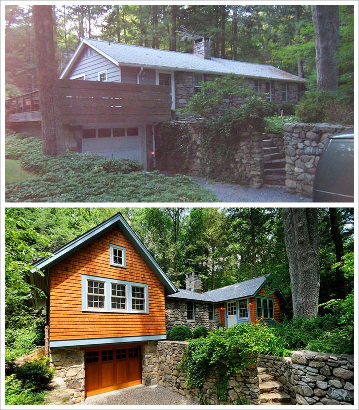 Before and After Pound Ridge
